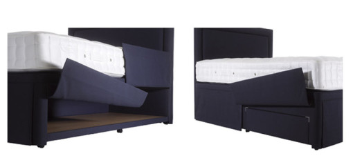 Hypnos Hideaway Divan Storage comes in a wide choice of fabrics and sizes